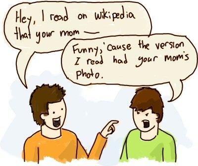 Wikipedia defamation