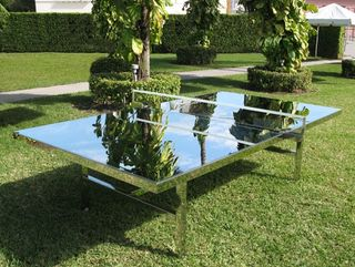 Chrome Ping Pong Table