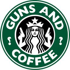 Starbucks Guns and Coffee