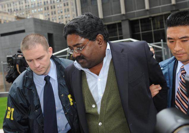 Rajaratnam arrest