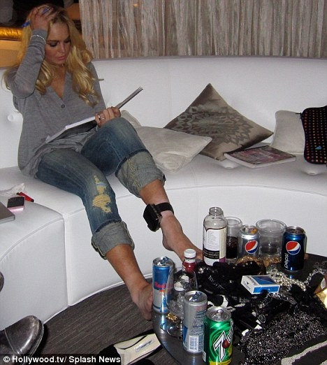 Lindsay Lohan Alcohol Bracelet
