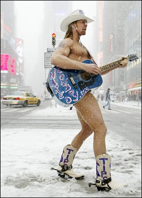 Naked cowboy lawsuit