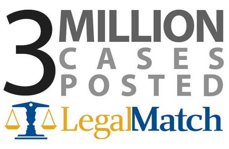 Legalmatch 3 million cases