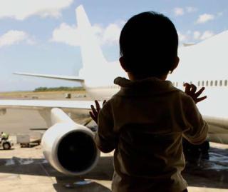 Child Airport