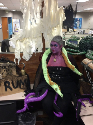 Callie Savage as Ursula