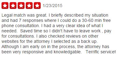 LegalMatch Review 1