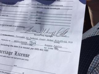 Rowan Marriage License