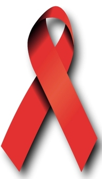 Red AIDS Ribbon