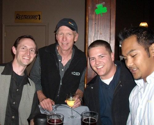 Ben, Chas, Jake, and Teejay